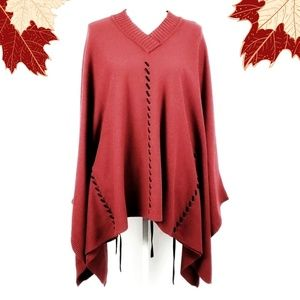 Territories Cape Shaw Sweater One Size